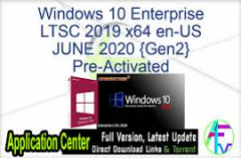 Windows 10 Enterprise LTSC 2019 X64 ESD MULTi-7 JULY 2020 {Gen2}